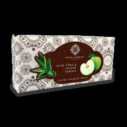 Mydlo Aloe vera a zelené jablko 115g