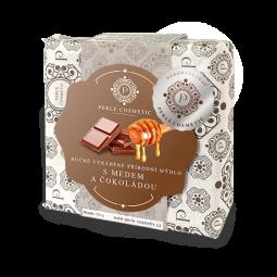 Mydlo s medom a čokoládou 115g
