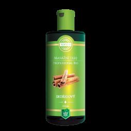 BIO Škoricový masážny olej 200ml