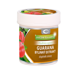 Guarana bylinný extrakt