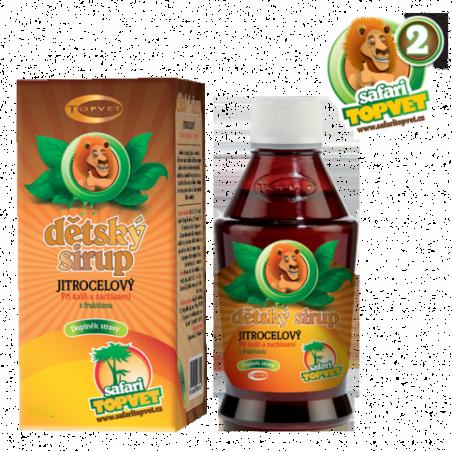 Skorocelový detský sirup s fruktózou 300g