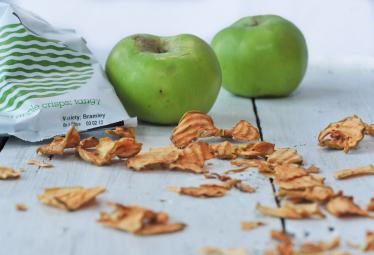Chrumkavé jablkové čipsy kyslé 20g