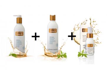 Vyhladzujúci kondicionér + Vyhladzujúci šampón + Sprej pre žiarivý lesk ZDARMA
