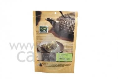 Porciovaný čaj Yunnan green
