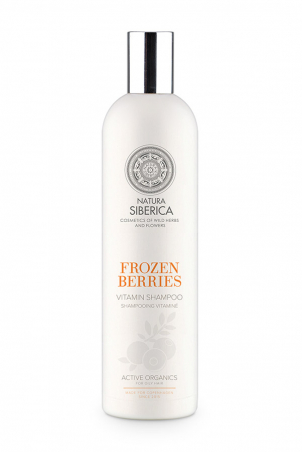 Siberie Blanche - Zamrznuté bobule - vitamínový šampón