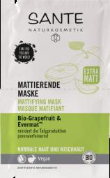 Zmatňujúca maska BIO grapefruit a Evermat