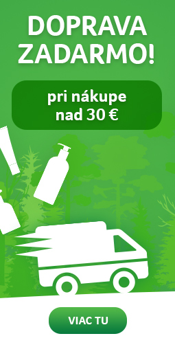 Doprava zadarmo nad 30 eur - Garatujeme doručenie do vianoc