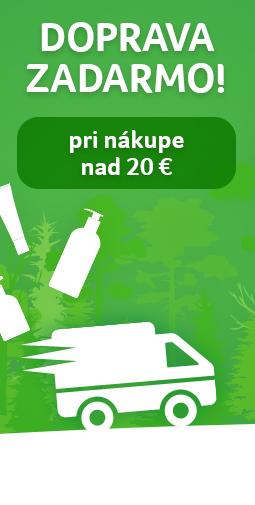 Doprava zadarmo nad 20 eur do 17.09.2019
