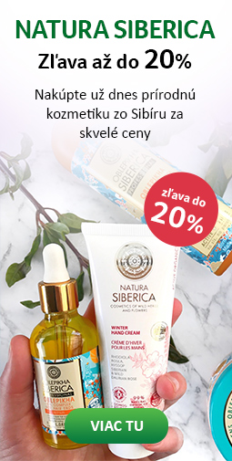 20% zľava na všetky produkty Natura Siberica do 24.09.2019
