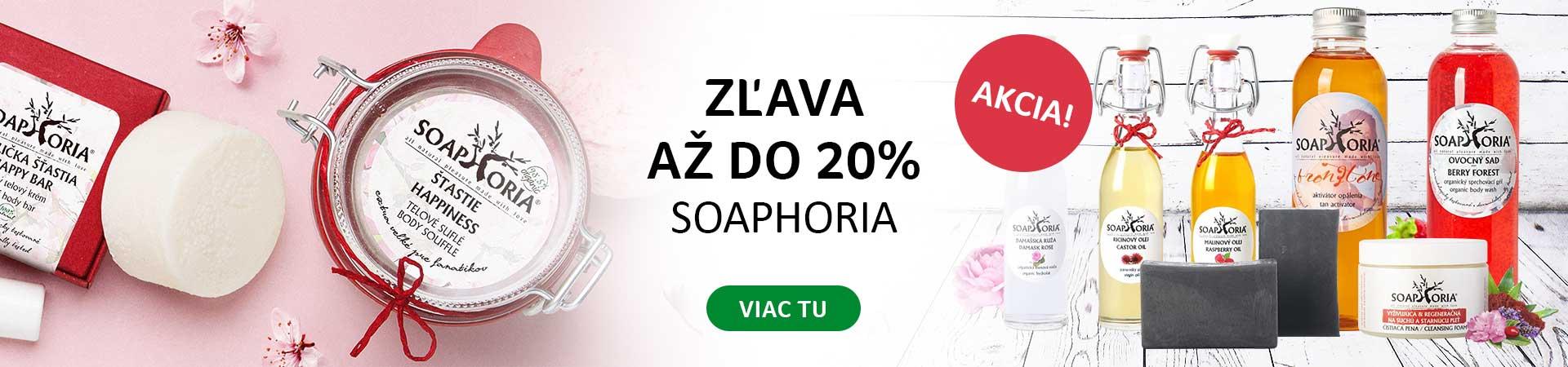 20% Zľava na všetky produkty Sopahoria + Doprava zadarmo Liptavia a Ecohead