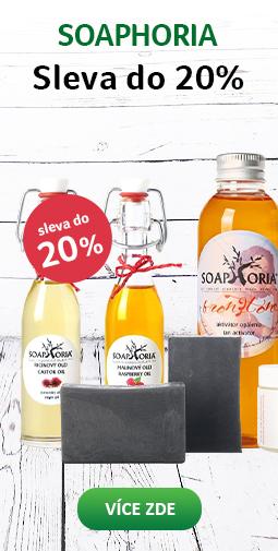 20% Sleva na celou značku Soaphoria do 22.09.2019