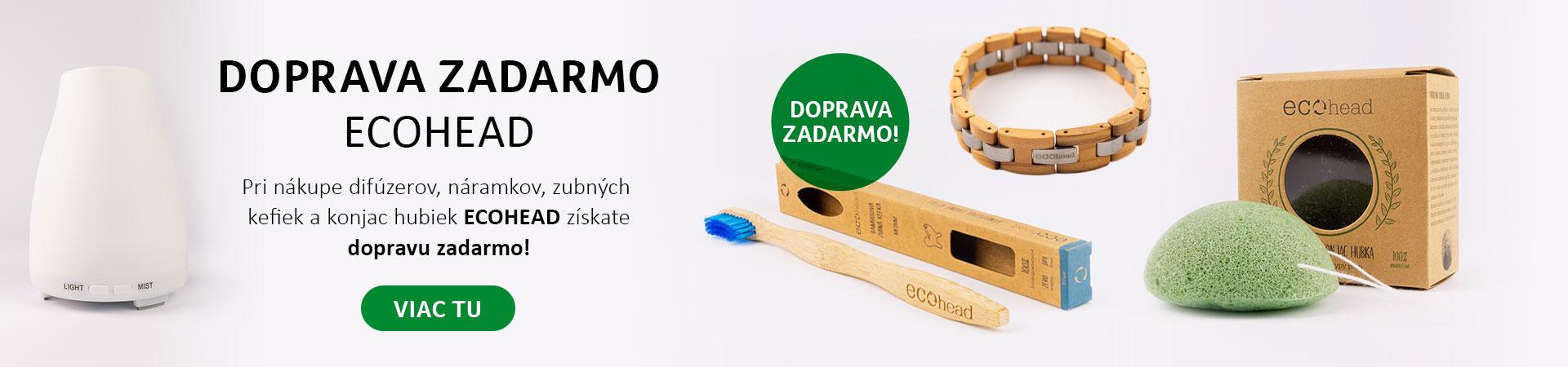 Doprava zdarma s produktami Ecohead