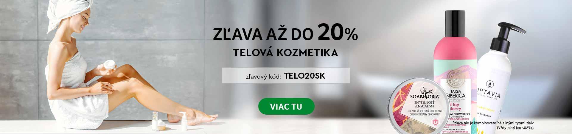20% na Telovú kozmetiku