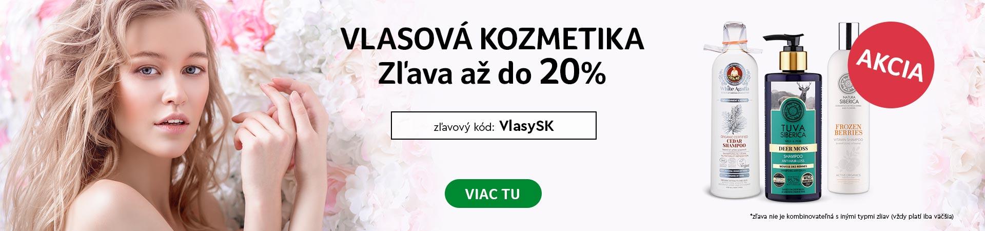 20% zľava na vlasovú kozmetiku do 09.07.2020