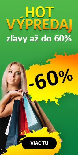 Jesenný Výpredaj až do 60% - upratujeme sklady