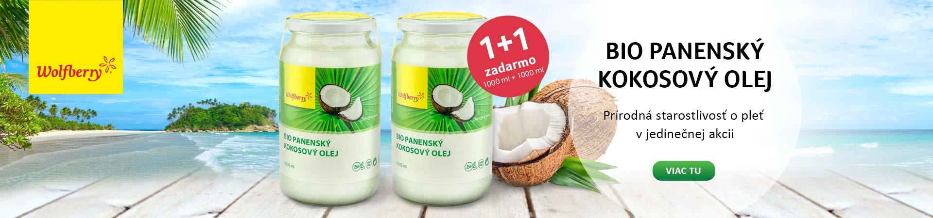 Wolfberry kokosový olej 1+1