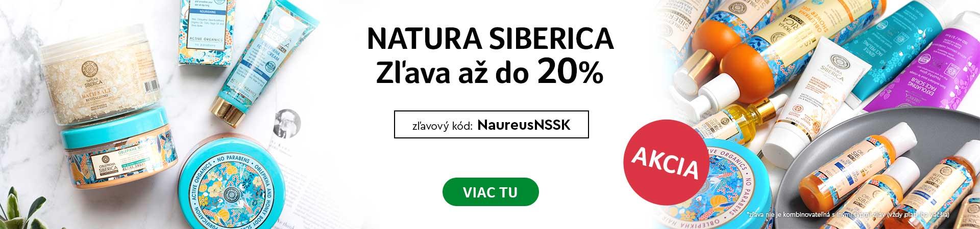 20% Zľava na celú značku Natura Siberica do 27.09.2020 + Doprava zadarmo s vybranými produktmi