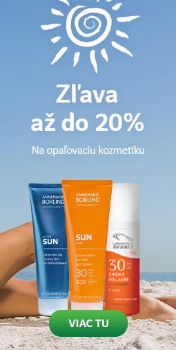 20% zľava na celú slnečnú kozmetiku do 26.04.2019