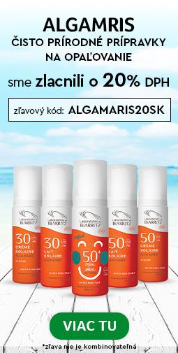 Ochrana pred Slnkom s 20% zľavou Alga Maris do 26.07.2020