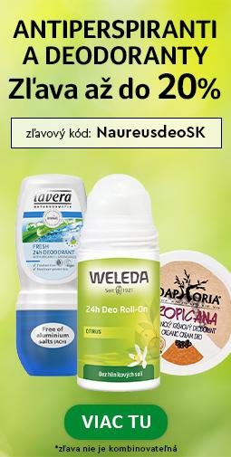20% Zľava na všetky deodoranty a antirespiranty do 03.06.2020 + doprava zadarmo s Liptavia a Ecohead