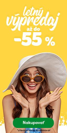 Letný výpredaj do -55 %