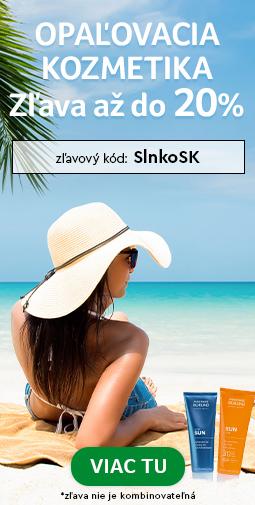20% Zľava Slnečná kozmetika do 07.06.2020