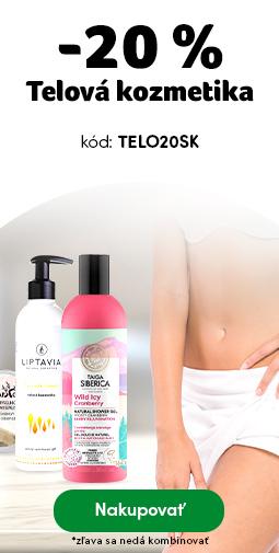 TOP kategórie v zľave - Telová kozmetika -20%