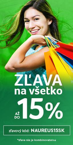15% Zľava na celý sortiment - viac ako 20 000 produktov do zajtra 27.10.2020