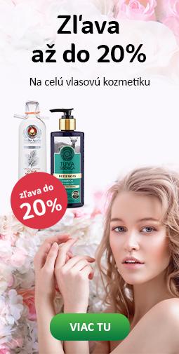 20% zľava kozmetika na vlasy + doprava zadarmo s Liptavia a Ecohead