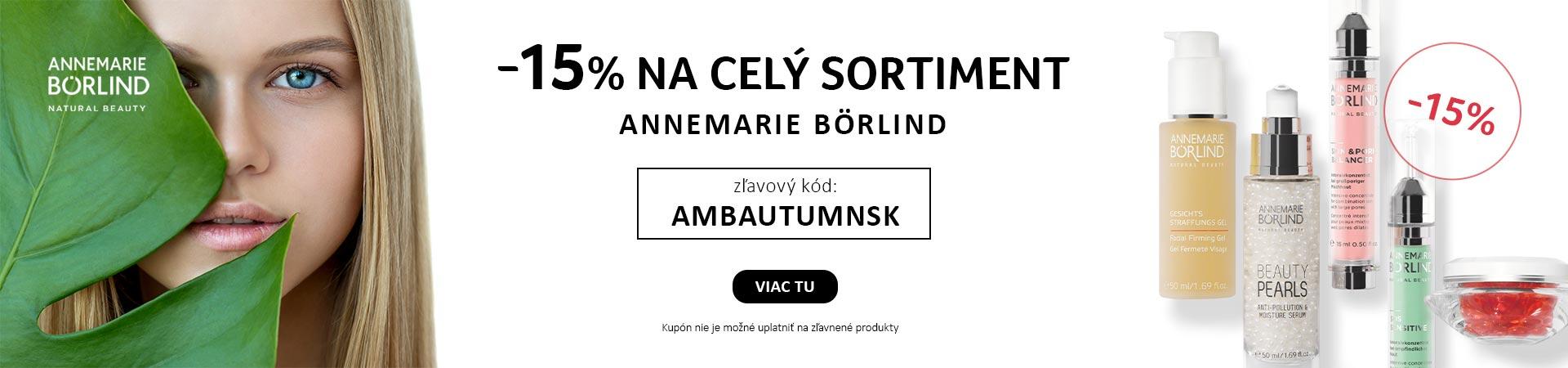Annemarie Borlind -15% na všetko