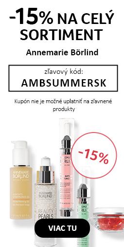15% zľava na všetky produkty  Annemarie Borlind
