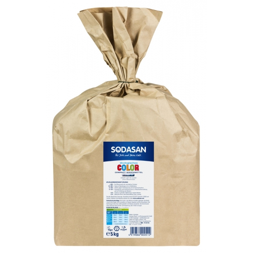 SODASAN COLOR COMPACT prací prášok na farebné prádlo - 1010g 1010g