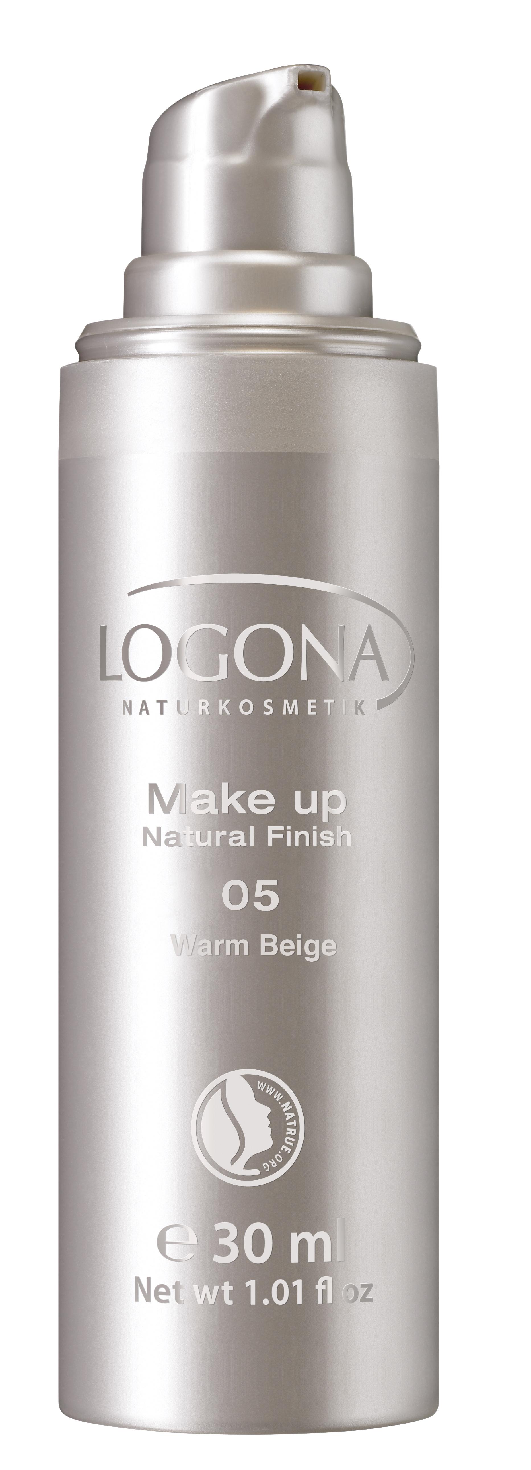 Make-up Natural Finish 05, warm beige