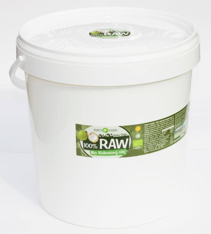 RAW kokosový olej 10 l