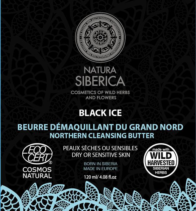 Natura Siberica Severské čierne čistiace maslo 120 ml