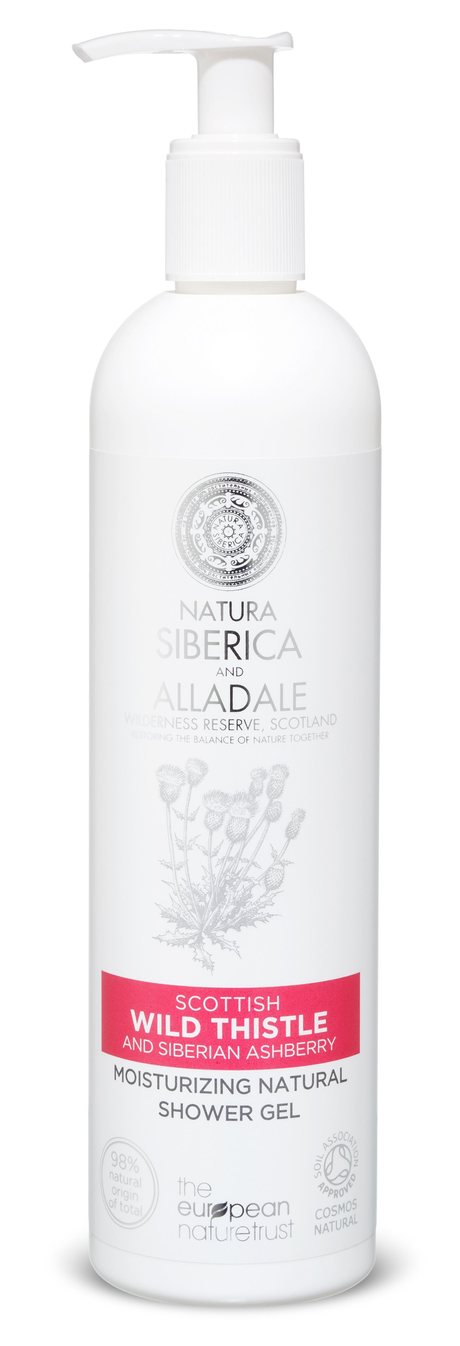 Natura Siberica Alladale- Hydratačný prírodný sprchový gél 400 ml