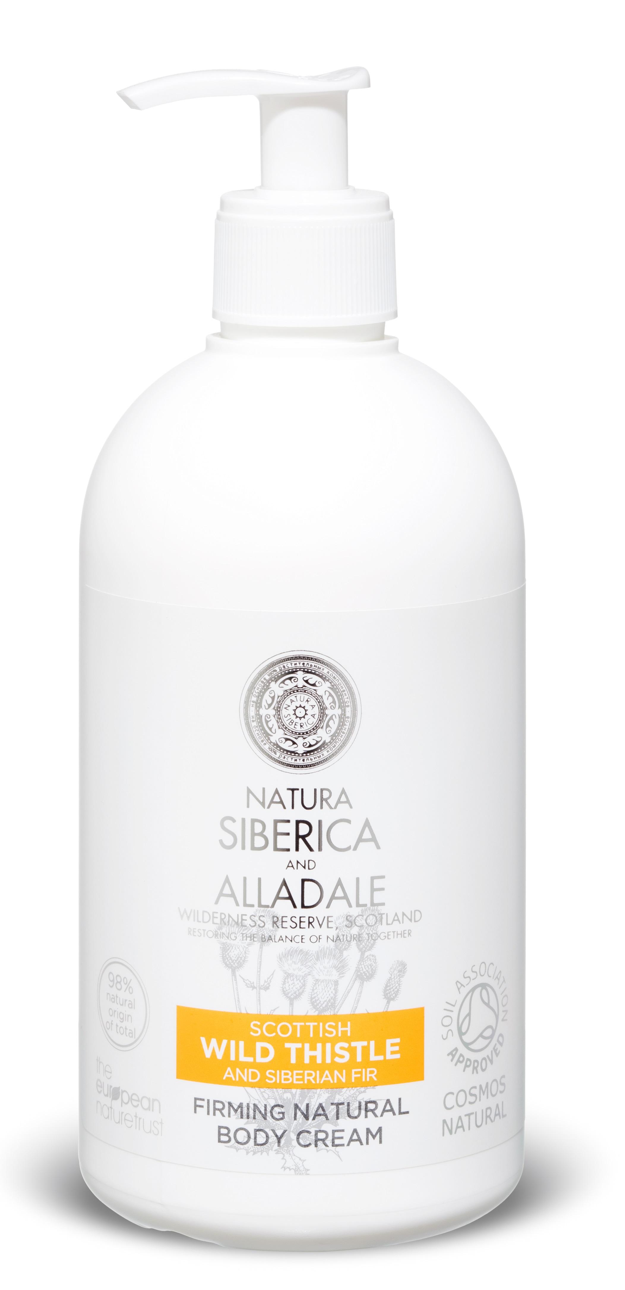Natura Siberica Alladale - Spevňujúci prírodný telový krém 500 ml 500 ml