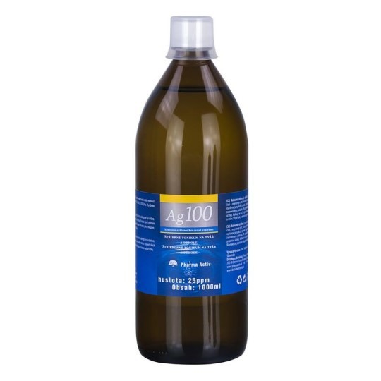 Ľubomír Drgáň - TRIX Pharma Activ Koloidné striebro Ag100 hustota 10ppm, 1x500 ml 500 ml