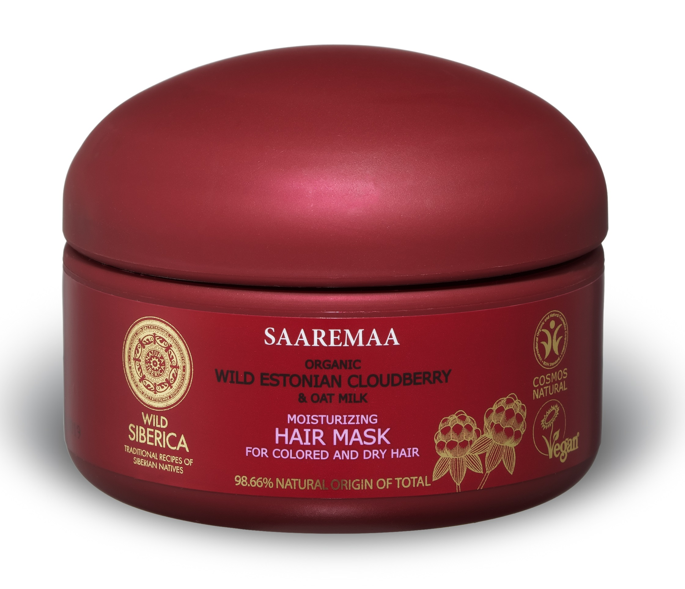 Natura Siberica Saaremaa - Hydratačná maska na vlasy 120 ml