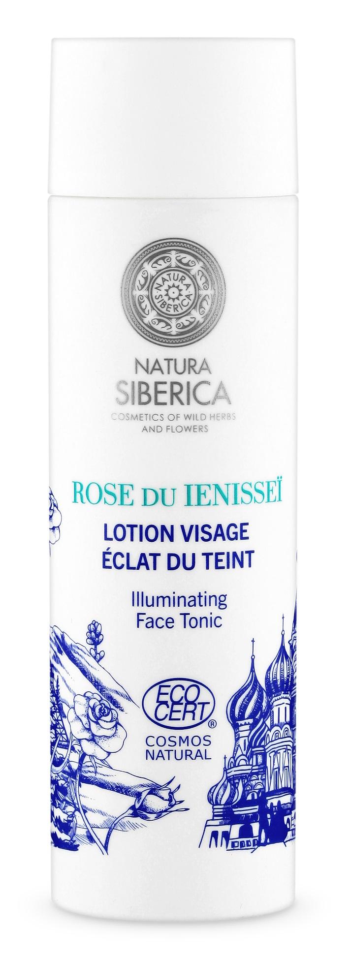 Natura Siberica Siberie Mon Amour - Rozjasňujúce tonikum na tvár 200 ml