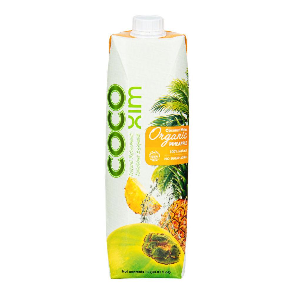 Country Life Voda kokosová ananás 1 l BIO COCOXIM 1 l