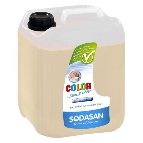 COLOR SENSITIV Tekutý prací prostriedok na farebné prádlo bez esenciálnych olejov 5L