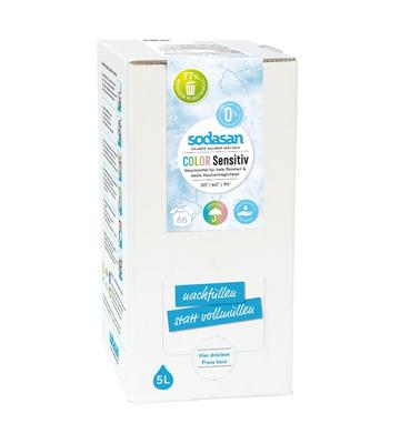 SODASAN COLOR Sensitiv tekutý prací prostriedok na farebne prádlo - 5 litrov 5 litrov