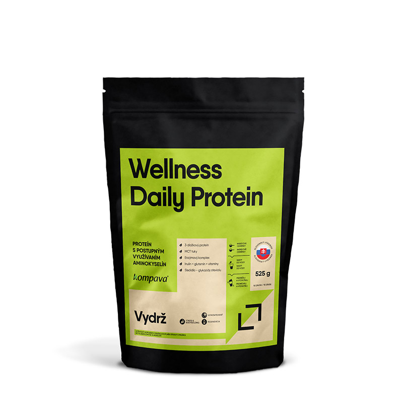 Wellness Daily Protein 65% 525 g/15 dávok vanilka