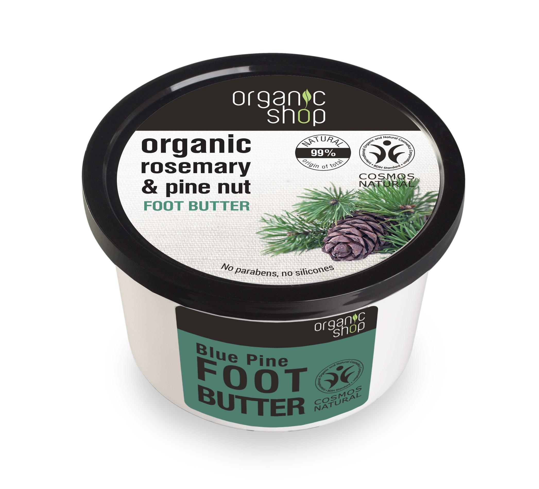 Organic Shop Organic Shop - Maslo na nohy Rozmarín a borovica 250 ml 250 ml