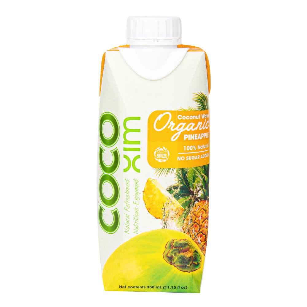 Country Life Voda kokosová ananás 330 ml BIO COCOXIM 330ml