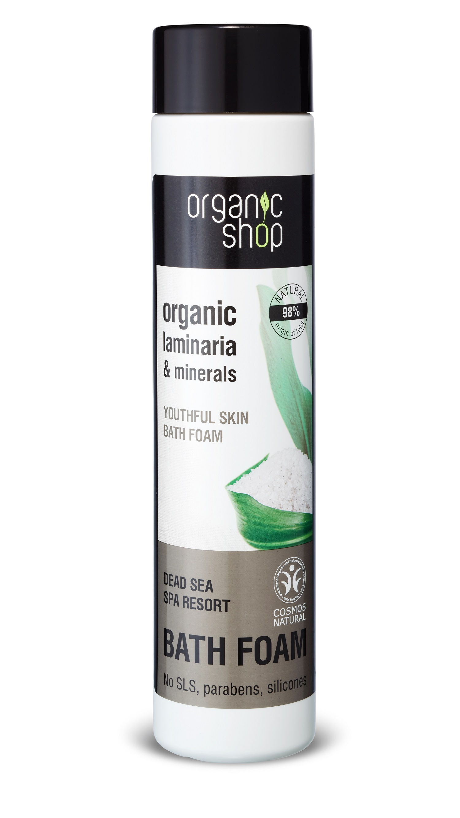 Organic Shop Omladzujúca pena do kúpeľa Mŕtve more Spa Resort 500 ml 500 ml