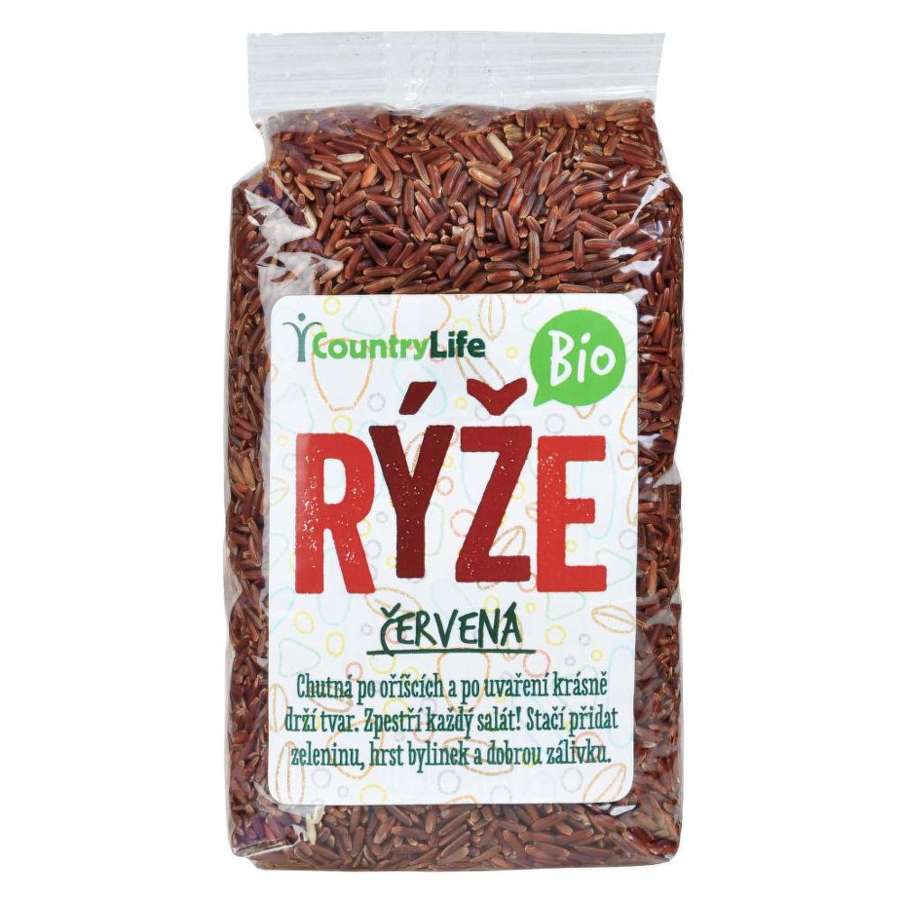 Country Life Ryža červená natural 500 g BIO 500g
