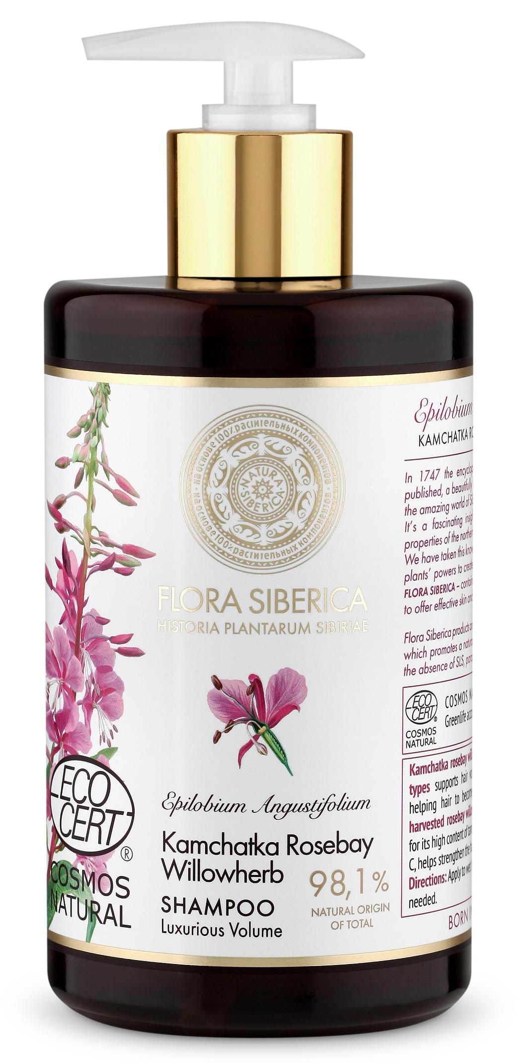 Flora Siberica - Šampón na vlasy pre luxusný objem