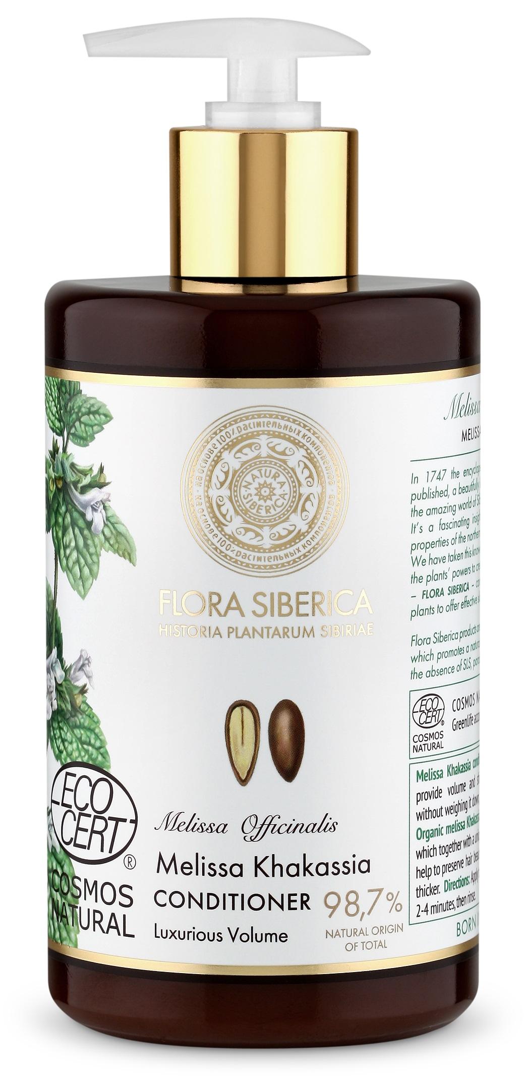 Natura Siberica Flora Siberica - Kondicionér na vlasy pre luxusný objem 480 ml